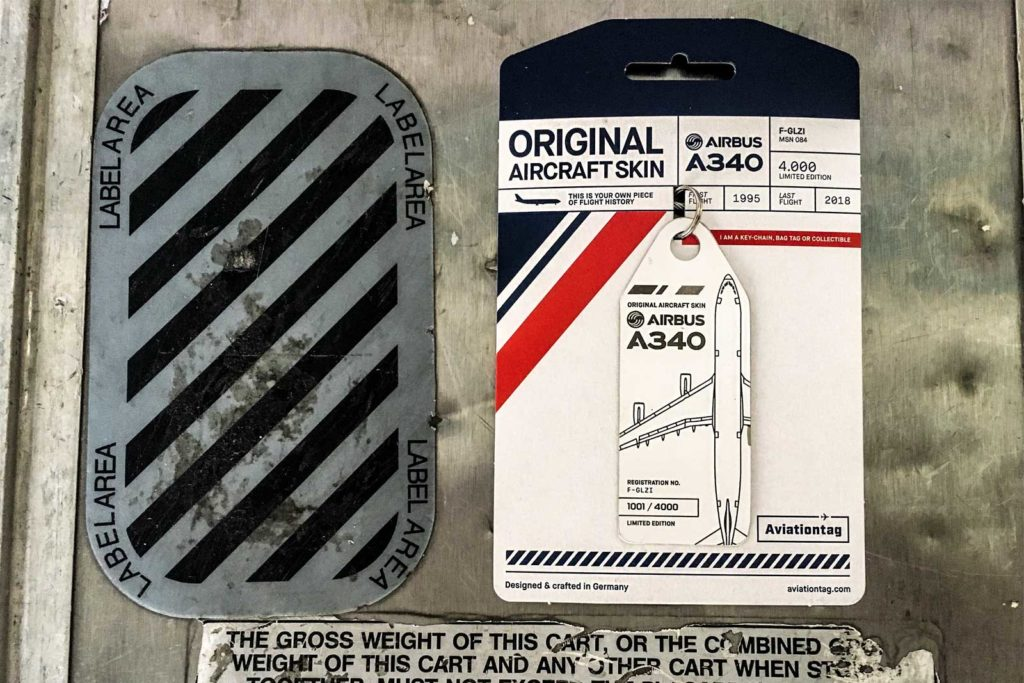 Air France Airbus 340 Aviationtag