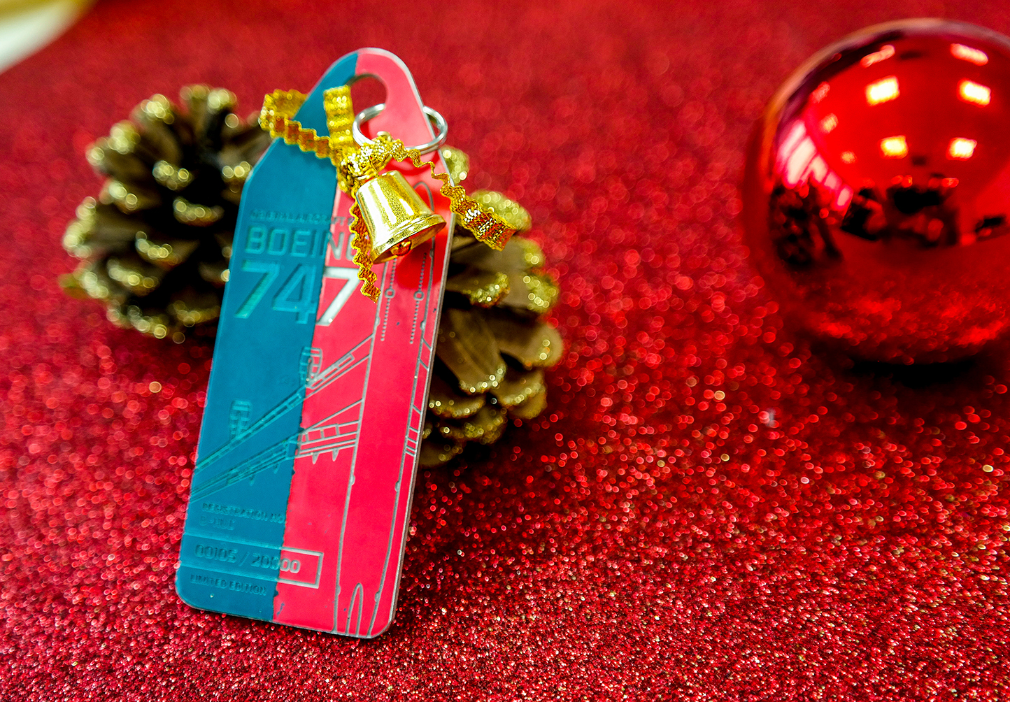 Christmas Aviationtag