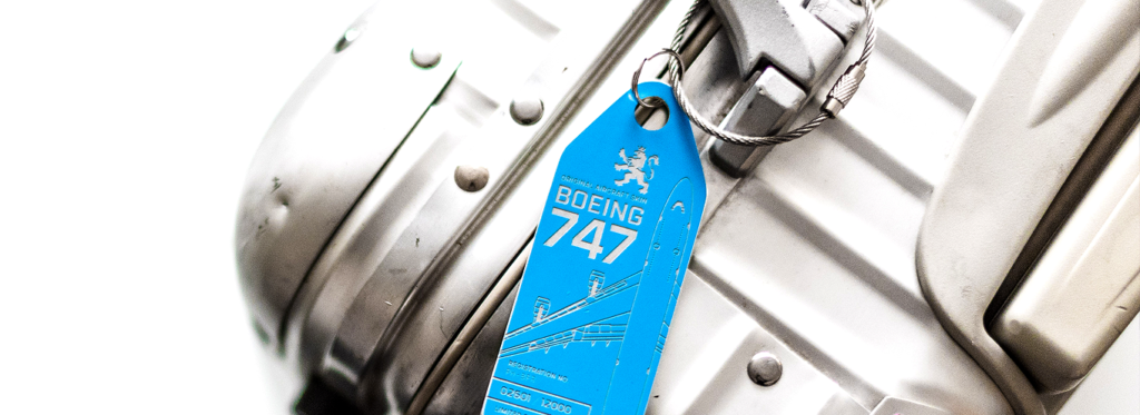 Production process of our Aviationtags from the former KLM Boeing 747 PH-BFR