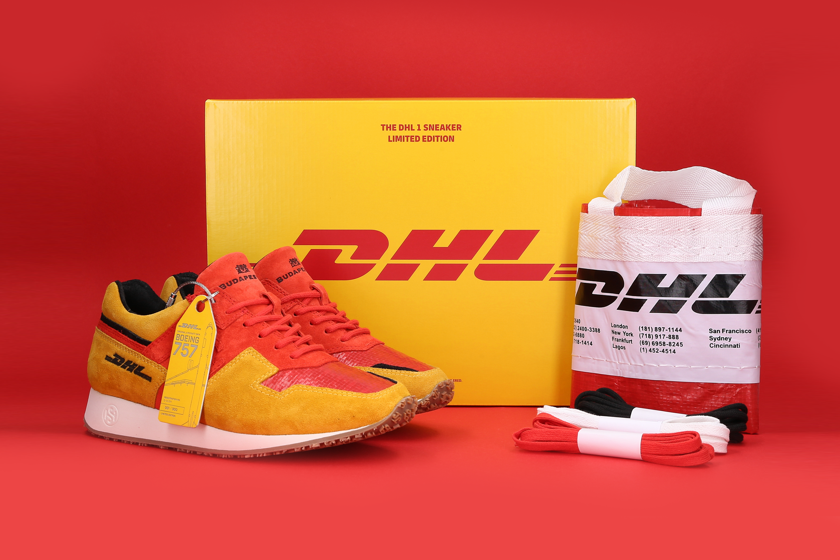 DHL 1 SNEAKER featuring Aviationtag