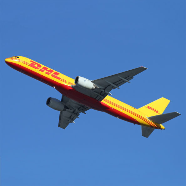 DHL Boeing 757 Aviationtag D-ALEK