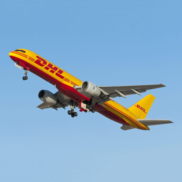 DHL Boeing 757 D-ALEH Aviationtag