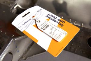 Lufthansa Upcycling Collection Aviationtag