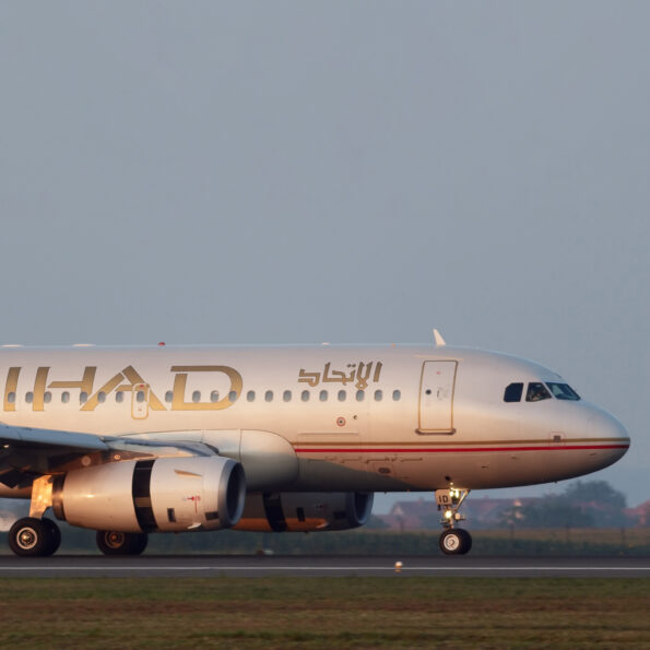 Etihad X Aviationtag Airbus A319 Edition
