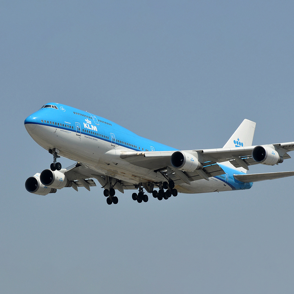 KLM Boeing 747-400M PH-BFF Aviationtag