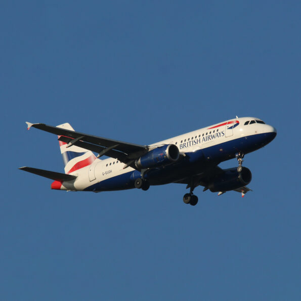 British Airways Airbus A319 G-EUOH Aviationtag Edition