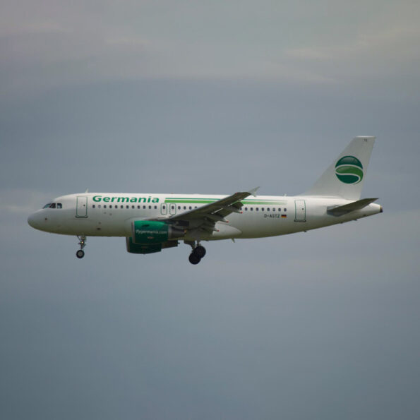 Germania Airbus A319 D-ASTZ Aviationtag