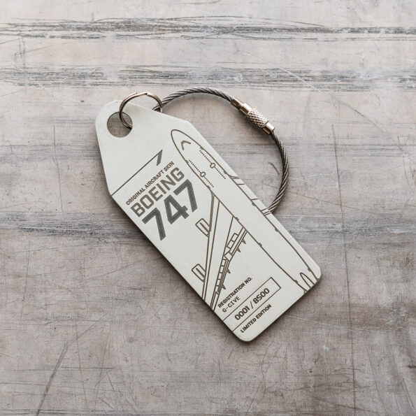 Boeing 747 G-CIVE Aviationtag Edition