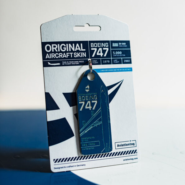 Aviationtag Olympic Airways Boeing 747 SX-OAD Edition