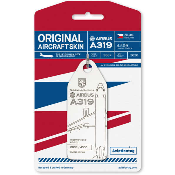 Aviationtag Czech Airlines Airbus A319 OK-MEL Edition